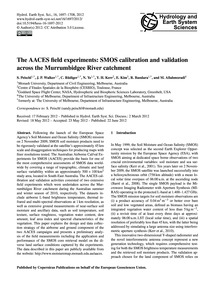 The Aaces Field Experiments: Smos Calibr... by Peischl, S.