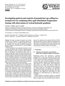 Investigating Patterns and Controls of G... by Krause, S.