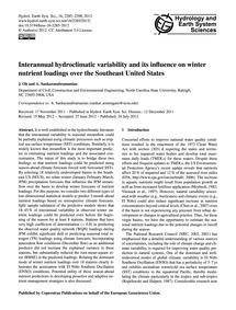 Interannual Hydroclimatic Variability an... by Oh, J.