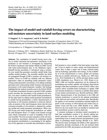 The Impact of Model and Rainfall Forcing... by Maggioni, V.
