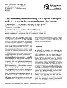 Assessment of the Potential Forecasting ... by Candogan Yossef, N.