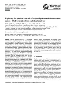 Exploring the Physical Controls of Regio... by Cheng, L.