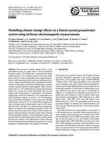 Modelling Climate Change Effects on a Du... by Faneca Sànchez, M.