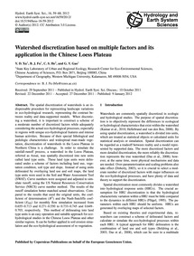 Watershed Discretization Based on Multip... by Xu, Y. D.