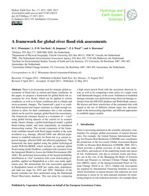 A Framework for Global River Flood Risk ... by Winsemius, H. C.