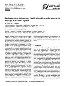 Prediction, Time Variance, and Classific... by Long, A. J.