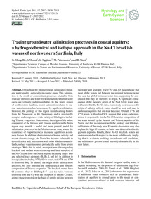Tracing Groundwater Salinization Process... by Mongelli, G.