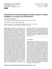 Sedimentation Monitoring Including Uncer... by Manh, N. V.