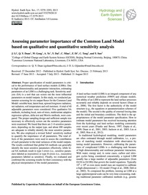 Assessing Parameter Importance of the Co... by Li, J.