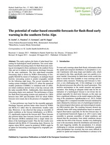 The Potential of Radar-based Ensemble Fo... by Liechti, K.