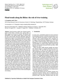 Flood Trends Along the Rhine: the Role o... by Vorogushyn, S.