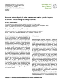 Spectral Induced Polarization Measuremen... by Attwa, M.