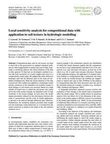 Local Sensitivity Analysis for Compositi... by Loosvelt, L.