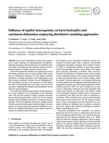 Influence of Aquifer Heterogeneity on Ka... by Oehlmann, S.