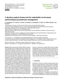 A Decision Analysis Framework for Stakeh... by Karjalainen, T. P.