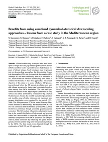 Benefits from Using Combined Dynamical-s... by Guyennon, N.