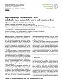 Exploring Drought Vulnerability in Afric... by Naumann, G.