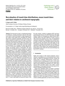 Reevaluation of Transit Time Distributio... by Seeger, S.