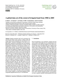 A Global Data Set of the Extent of Irrig... by Siebert, S.