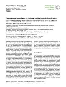 Inter-comparison of Energy Balance and H... by Guzinski, R.