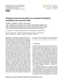 Reducing Structural Uncertainty in Conce... by Hublart, P.