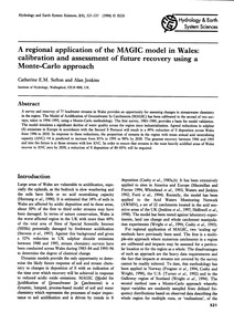 A Regional Application of the Magic Mode... by Sefton, C. E. M.