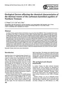 Geological Factors Affecting the Chemica... by Drogue, C.