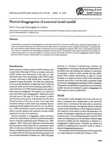 Physical Disaggregation of Numerical Mod... by Fox, N. I.