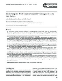Spatio-temporal Development of Streamflo... by Zaidman, M. D.