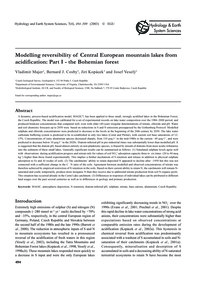 Modelling Reversibility of Central Europ... by Majer, V.