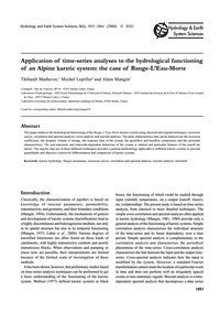 Application of Time-series Analyses to t... by Mathevet, T.