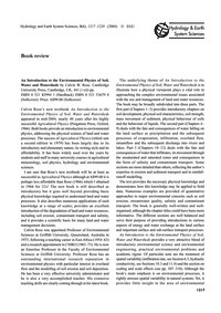 Book Review : Volume 8, Issue 6 (30/11/-... by