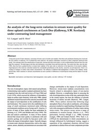 An Analysis of the Long-term Variation i... by Langan, S. J.