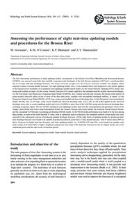 Assessing the Performance of Eight Real-... by Goswami, M.