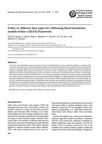 Utility of Different Data Types for Cali... by Hunter, N. M.