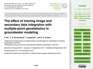 The Effect of Training Image and Seconda... by He, X.