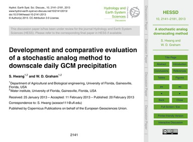 Development and Comparative Evaluation o... by Hwang, S.