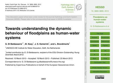 Towards Understanding the Dynamic Behavi... by Di Baldassarre, G.
