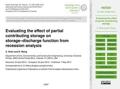 Evaluating the Effect of Partial Contrib... by Chen, X.