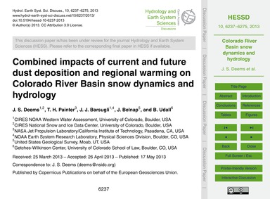 Combined Impacts of Current and Future D... by Deems, J. S.
