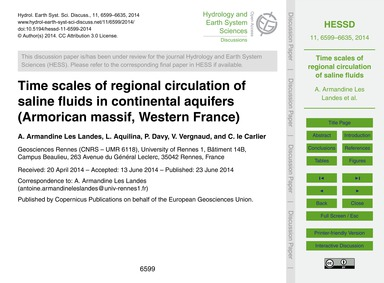 Time Scales of Regional Circulation of S... by Armandine Les Landes, A.