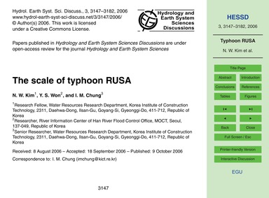 The Scale of Typhoon Rusa : Volume 3, Is... by Kim, N. W.