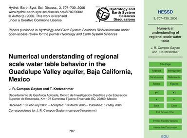 Numerical Understanding of Regional Scal... by Campos-gaytan, J. R.