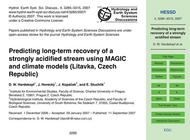Predicting Long-term Recovery of a Stron... by Hardekopf, D. W.
