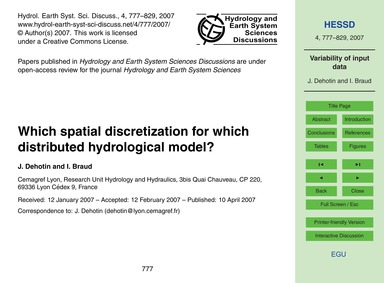 Which Spatial Discretization for Which D... by Dehotin, J.