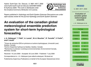 An Evaluation of the Canadian Global Met... by Velázquez, J. A.