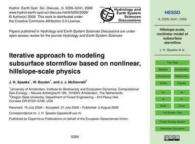 Iterative Approach to Modeling Subsurfac... by Spaaks, J. H.