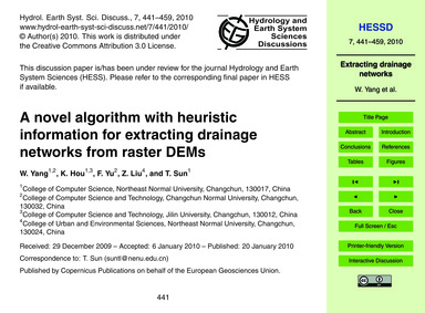 A Novel Algorithm with Heuristic Informa... by Yang, W.