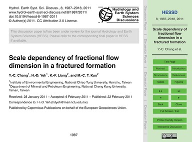 Scale Dependency of Fractional Flow Dime... by Chang, Y.-c.