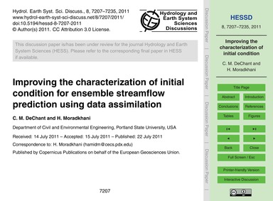 Improving the Characterization of Initia... by Dechant, C. M.